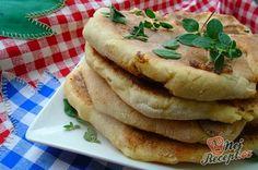 Fenomenální placky gruzínské kuchyně | NejRecept.cz Home Baking, Bread Recipes, Pancakes, Good Food, Easy Meals, Food And Drink, Appetizers, Pasta, Cooking