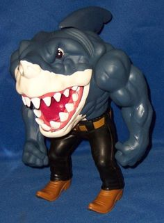Had this guy when I was a kid. Street Sharks were awesome.