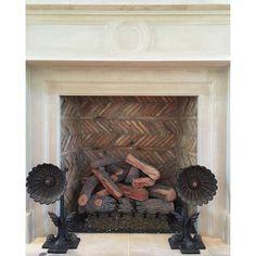 Love herringbone brickwork.