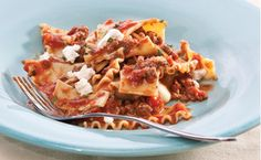 Epicure Lazy Lasagna - So simple and looks yummy! Im definitely trying this one tonight!