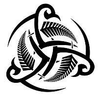 America - triskell, celtic, fern, maori, tribal, Borneo, strength, valiance, life, balance, eternal, maturity