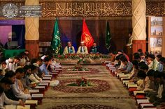 QURAN RECITATION IN NASEEM KARBALA EVENT HELD IN ISLAMABAD Quran Recitation, Muharram, Painting, Painting Art, Paintings, Painted Canvas, Drawings