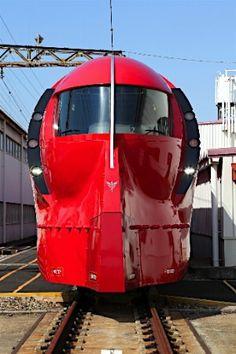 Gundam Rapi:t Train by Nankai Railways 南海ラピート | Osaka, Japan