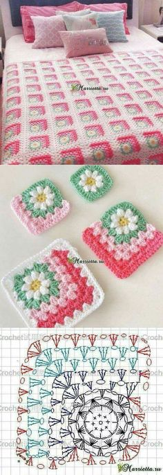 "Corner Daisy square [   ""Different granny square for afghan"",   ""Corner Daisy square - This is so beautiful."",   ""I hate piecing things together and yet I keep looking up patterns that do just that."",   ""Omg i love this! Hopefully ill try this project soon!"",   ""So cute, but hate the colors"",   ""Flower motif and blanket"" ] #<br/> # #Diy #And #Crafts,<br/> # #Granny #Squares,<br/> # #Granny #Square #Blanket,<br/> # #Afghans,<br/> # #Crochet #Patterns,<br/> # #Crochet #Ideas,<br/> #…"