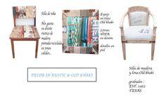 Decor in Old wood and khaki.  http://www.miamare.es/es/tienda-regalos/vintage/results,13-12