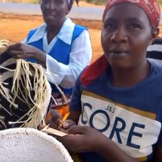 Each Mifuko Kiondo basket has a handwritten name of the artisan who has made it. This way the basket carries a story of its maker - to you ❤️. Mifuko - Work of hands and hearts ❤️ Guaranteed Fair Trade ❤️ 。。。。。。。。。。。。。。 See the complete Mifuko story video at www.youtu.be/TLPQkYQRmWo 