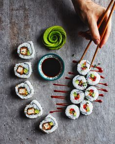 How to make sushi!