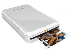 For the first time ever, you can now enjoy all the power and fun of Polaroid instant print cameras without the need for the actual camera. This brand new standalone mobile printer is designed to print vibrant, colorful photos from a variety of sources. It features its own rechargeable 500mAh lithium polymer battery.