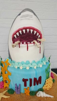 Shark Cake for Tim
