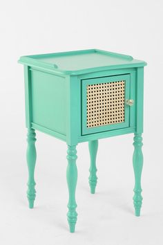 GiGi Nightstand from Urban Outfitters. Saved to For My Future Mansion. Shop more products from Urban Outfitters on Wanelo. My New Room, My Room, Spare Room, Dorm Room, Urban Outfitters, Azul Tiffany, Tiffany Blue, Bed Table, Interiores Design