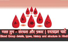 Blood group details and types in Hindi   ब्लड ग्रुप और उसके प्रकार