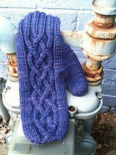 Ravelry: Dwarven Mittens pattern by Ginger Monkey Knits; the cable is what I like.