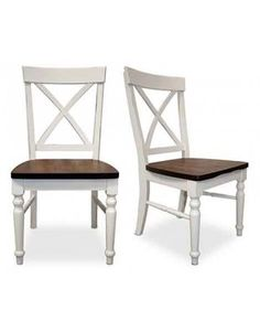 Parquet X-Back Chair (Set of 2)