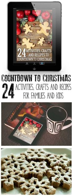 Countdown to Christmas as a family with these ideas for activities, recipes and crafts that you can do together. Full Step-by-Step instructions and materials list plus extra inspiration for some of the ideas. #christmas #christmascrafts #advent #christmasactivities #christmasrecipes #ebook #rainydaymum