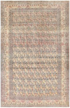Click here to view this beautiful antique Persian Tehran carpet, which is currently available for sale through the Nazmiyal Collection.