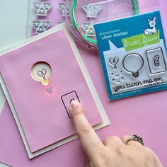 This card is perfect for your special Valentine! Let this know how much they turn you on with this fun interactive light up card. Diy Valentines Cards, Valentine Day Boxes, Valentines Gifts For Boyfriend, Boyfriend Anniversary Gifts, Boyfriend Gifts, Best Bullet Journal Pens, Interactive Cards, Cute Crafts, Clear Stamps
