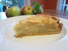Apple Pear Cake (Apfel Birnenkuchen}. OMG! I miss this from Germany