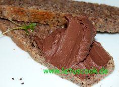 Frischkäse-Kakao Brotaufstrich-კრემყველის და კაკაოს მუსი - let us cook