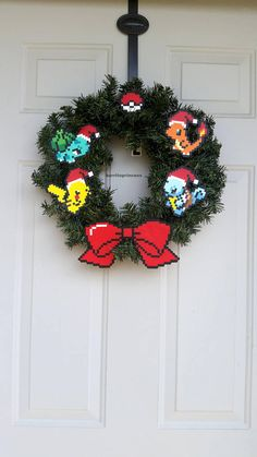 Pokemon Christmas Wreath Pokemon Christmas Decoration