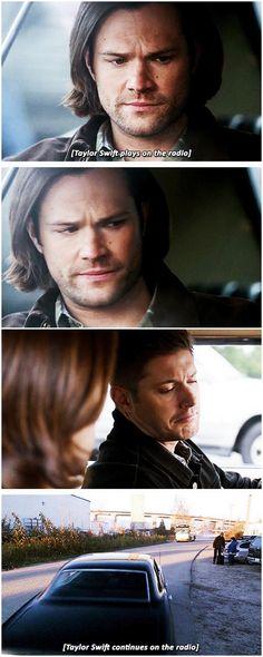 [gifset] 10x12 About A Boy #SPN #Dean #Sam