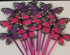 EXPRESS.. 12 Caleb & Sophia style Butterfly pens with by Mayzis