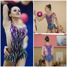 Leotard: Olesya Petrova (Russia), ball 2015