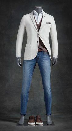 New Ideas Moda Masculina Casual Fashion Blazers Mens Fashion Blazer, Suit Fashion, Fashion Outfits, Men's Fashion, Casual Wear, Casual Outfits, Men Casual, Casual Chic, Mode Man