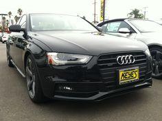 Titanium or Nothing. 2014 Audi A4 quattro with Black Optic Package. www.KeyesAudi.com