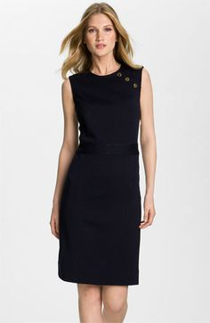Tory Burch 'Beverly' Sheath Sweater Dress available at #Nordstrom