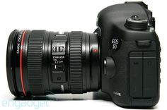 The must awaited Canon 5D Mark III. If you didn't just drool a little; you're either not a photog or you already own one!