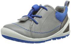 Ecco Biom Lite Infants Wild Dove/Dynasty Fe/T – Zapatos de primeros pasos de cuero bebé – unisex, color gris, talla 19