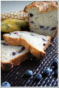 Blueberry Cream Cheese Banana -   The last time I had bananas in this state, I made Blueberry Cream Cheese Banana Bread.  Yum and a half, I tell you.  Blueberries and bananas should always walk hand in hand, I think.  They look good together, taste good together, they combine in sweet and subtle ways.  Throw in some cream cheese and you're talking amazement. Banana bread has never been so good.  http://doughmesstic.com/2012/08/21/blueberry-cream-cheese-banana-bread/