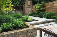 Robert Budwig Landscape and Garden Design. Stunning London terrace. The stone used in this project was Pietra Laro Grey, provided by www.stone-age.co.uk