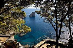 Belvédère de Tragara - Capri