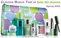 There are bonus days at Saks 5th Avenue. Use promo code: CLINIQ29 http://clinique-bonus.com/other-us-stores/