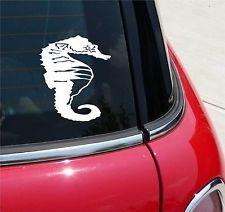 SEAHORSE SEA HORSE SEAHORSES GRAPHIC DECAL STICKER ART CAR WALL DECOR