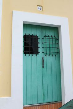 Doors of Old San Juan...