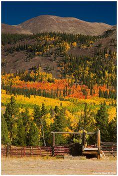 Boreas Pass, Colorado, USA
