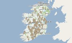 Mapping Ireland's Mysterious Carvings of Old Women Exposing Their Genitals