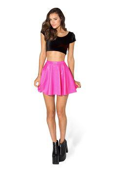 Black Milk Clothing Fairy Dust Pink Skater Skirt L BNWT