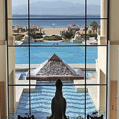 Das luxuriöse #Sheraton Soma Bay Resort Golf & SPA in Hurghada mit spektakulärem #Meerblick.