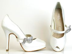 Dyeable Diamond White Angela Nuran Tribeca  Bridal Shoes http://www.bellissimabridalshoes.com/Dyeable-Diamond-White-Angela-Nuran-Tribeca-Bridal-Shoes-Prodview.html