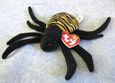 Rare Ty Beanie Babies | RARE Ty Beanie Babies Collectible Stuffed Spinner Oct 28 96 473 Inside ...