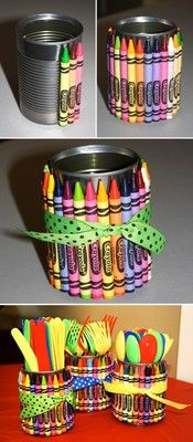 Could be used as a pencil holder for the classroom.