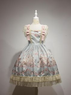 Lullaby -Sing A Lullaby For You- Printed Lolita Normal Waist JSK