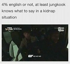 Jungkook is me tho even when i (halfly due to kpop ruining it) speak english as it is my first language