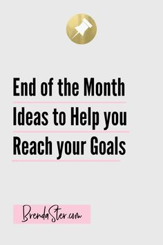 The end of the month can really sneak up on us and before we know it, we're racing to try to reach our sales and sponsorship goals! Don't let the end of the month scare you - there are plenty of ways to meet those goals. Here are a few things you can do today to achieve your goals. Don't forget to repin this for later!! Small Business Goals // Business Goals // Direct Sales Goals // Direct Sales Tips // Small Business Tips