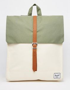 Herschel+Supply+Co+City+Backpack+in+Khaki+Colour+Block