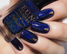 Image of Starry Night of the Summer - Fun Lacquer, Hair And Nails, Nail Art, Nail Polishes, Night, Summer 2014, Makeup, Image, Collection