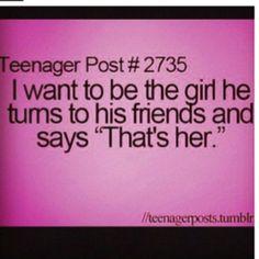 awww... Teenager Post #2735 I wish I had someone like that in my life.